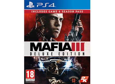 Mafia III Deluxe Edition - PS4 Game