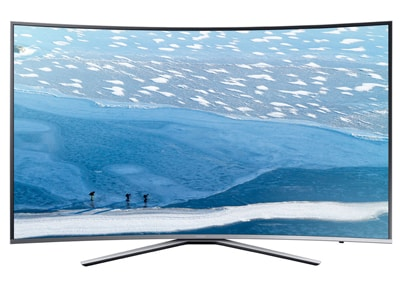 "4K Τηλεόραση 55"" Samsung UE55KU6500 Curved Smart LED Ultra HD"
