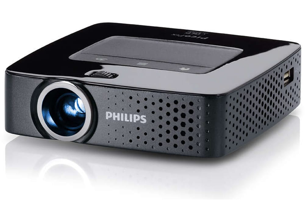 Projector philips picopix pocket ppx3614 dlp for Dlp pocket projector