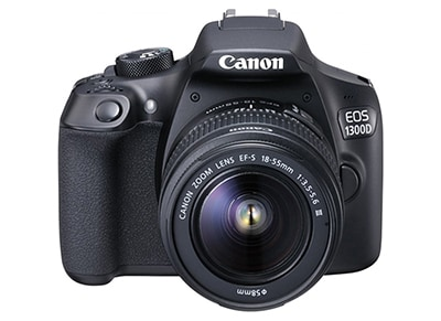 DSLR Canon EOS 1300D Kit 18-55mm III - Μαύρο