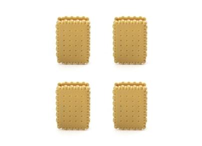 Κλιπ Τσάντας Waffle Kikkerland - Σετ 4 τεμαχίων