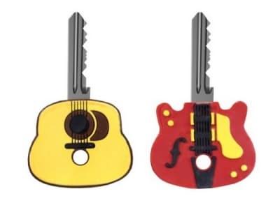Διακοσμητικό Κλειδιού Κιθάρα Kikkerland - Σετ 2 τεμαχίων
