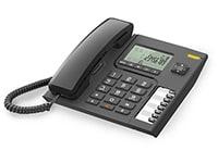 Alcatel Temporis T76 Ενσύρματο Τηλέφωνο Μαύρο