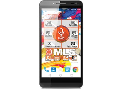 "MLS Color 3 5"" - Dual Sim Μαύρο - 4G Smartphone"