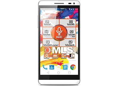 "4G Smartphone MLS Color 3 5"" - Dual Sim Ασημί"