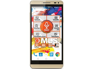 "4G Smartphone MLS Color 3 5"" - Dual Sim Χρυσό"