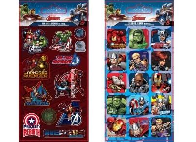 Αυτοκόλλητα Avengers Fun Foiled