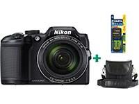 Compact Nikon Coolpix B500 - Μαύρο & Θήκη & Μπαταρίες