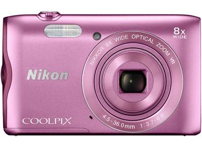 Compact Nikon Coolpix A300 - Ροζ