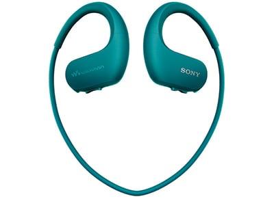 Αδιάβροχα Ακουστικά & MP3 Sony NW WS413 4GB Μπλε