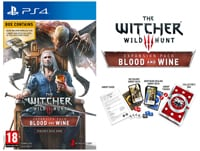 The Witcher III: Wild Hunt - Blood and Wine Expansion Pack Limited Edition - PS4 Game