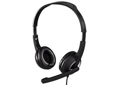 Ακουστικά Headset Hama HS-300 53982 Μαύρο