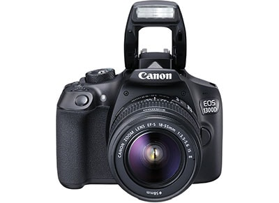 Canon EOS 1300D Kit 18-55mm IS - Μαύρο