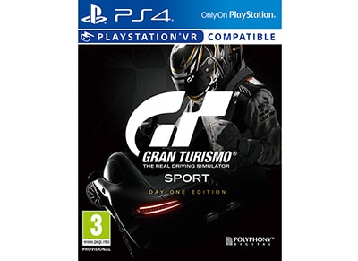 Gran Turismo Sport Day One Edition - PS4/PSVR Game