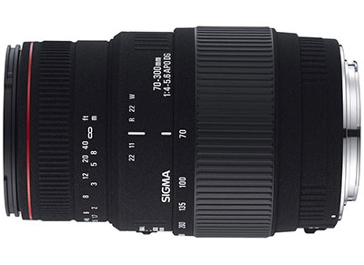 Sigma 70-300mm f/4-5.6 Macro DG - για Canon DSLR Lens