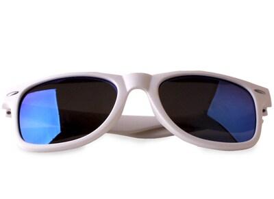 Γυαλιά Ηλίου Puro Unisex Λευκό