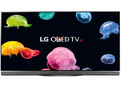 """4K Τηλεόραση 55"""" LG OLED55E6V Smart 3D OLED Ultra HD"""