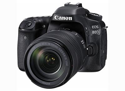 DSLR Canon EOS 80D EF 18-135mm IS USM
