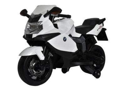 Ηλεκτρική Μηχανή Buddy Toys BMW K1300 Λευκή (BEC 6010)