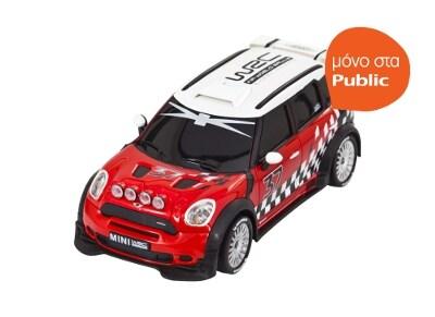 Τηλεκατευθυνόμενο Buddy Toys Mini Cooper WRC R60 Κόκκινο (BRC 24.020)