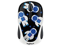 Logitech M238 Wireless Mouse Astronaut Ασύρματο Ποντίκι