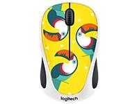 Logitech M238 Wireless Mouse Toucan Ασύρματο Ποντίκι