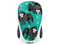 Logitech M238 Wireless Mouse Gorilla Ασύρματο Ποντίκι