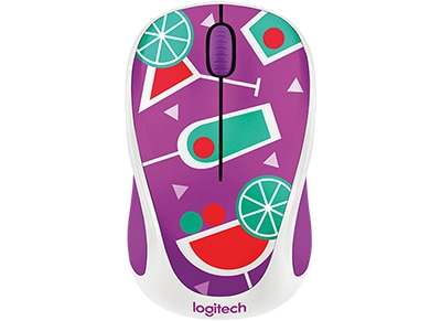 Logitech M238 Wireless Mouse Cocktails Ασύρματο Ποντίκι