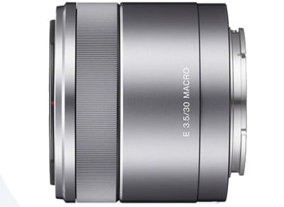 Sony E 30mm f/3.5 Macro - Sony Mirrorless Lens