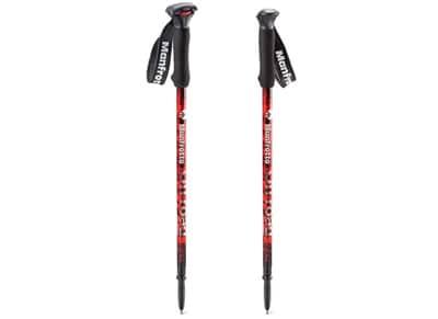 Τρίποδο Manfrotto Off Road Aluminum Walking Sticks - Κόκκινο