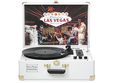 Πικάπ Ricatech EP1970 Elvis Presley Limited Edition Λευκό ήχος   πικάπ