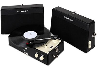 Πικάπ Ricatech Vintage RTT80 Μαύρο