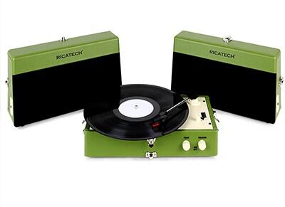 Πικάπ Ricatech Vintage RTT80 Πράσινο