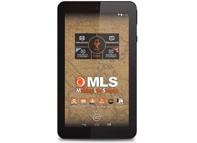 "MLS iQTab Atlas 64 - Tablet 7"" 8GB Μαύρο"
