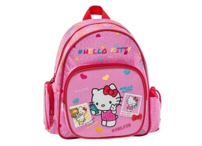 Τσάντα Πλάτης Νηπιαγωγείου Graffiti Hello Kitty Ροζ (168291)
