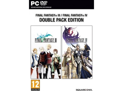 Final Fantasy III & Final Fantasy IV Double Pack - PC Game gaming   παιχνίδια ανά κονσόλα   pc