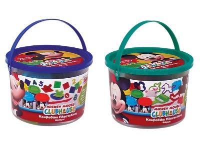 Κουβαδάκι με 4 Βαζάκια & 8 Εργαλεία Mickey - 1 τεμάχιο (1045-03540)