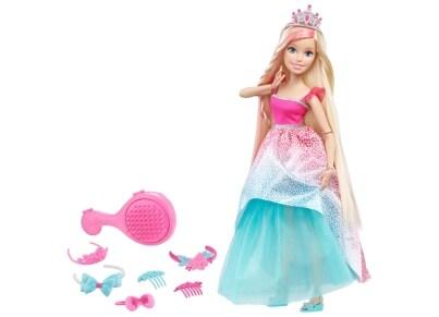 Barbie Κούκλα Πριγκίπισσα Μακριά Μαλλιά 45cm