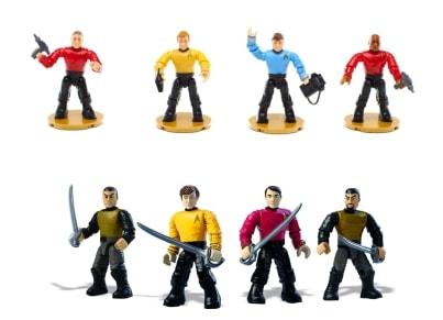 Σετ Φιγούρες Star Trek (4 Τεμάχια)