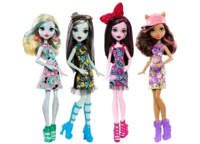 Monster High - Βασικοί Μαθητές - Mattel - 3 Σχέδια - 1 Τεμάχιο - DTD90