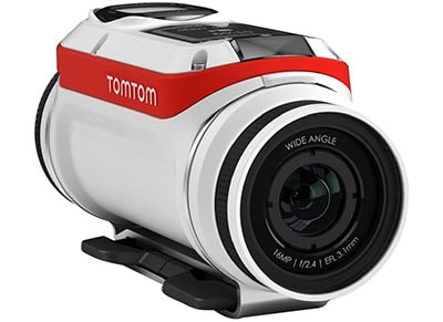 Action Camera TOM TOM Bandit Premium 16MP 4K Ultra HD - Λευκό