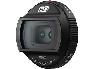 Panasonic Lumix G 12.5mm f12 3D - Φακός για Panasonic MFT
