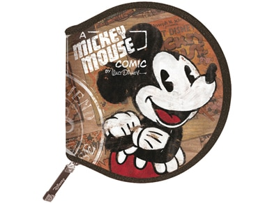 Θήκη CD/DVD Tucano Disney Mickey Kristal 24 discs - Καφέ