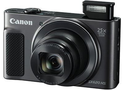 Compact Canon Powershot SX620 HS - Μαύρο