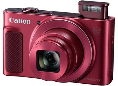 Compact Canon Powershot SX620 HS - Κόκκινο