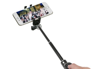 Bluetooth Selfie Stick - SBS Bluetooth Telescopic Pro Μαύρο TESELFISHAFTPRO