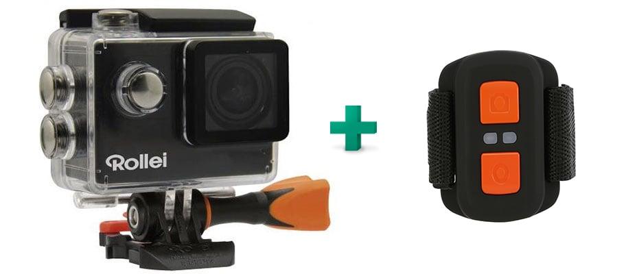 action camera rollei 425 4k remote control public. Black Bedroom Furniture Sets. Home Design Ideas