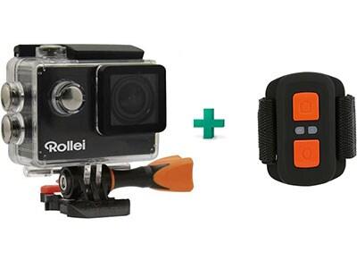 Action Camera Rollei 425 4K - Μαύρο & Remote Control