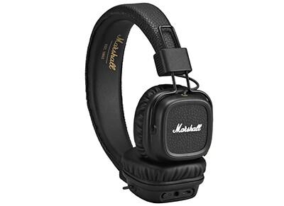Ακουστικά Κεφαλής Marshall Major II Bluetooth Μαύρο