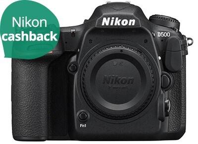 DSLR Nikon D500 Body - Μαύρο